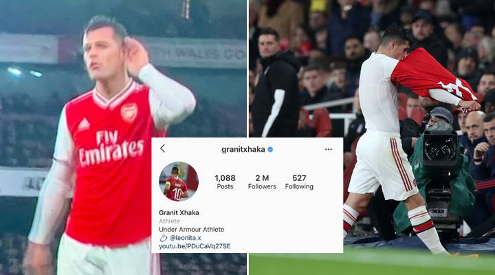 Granit Xhaka Removes Arsenal Instagram Profile Picture After Controversy With Fans