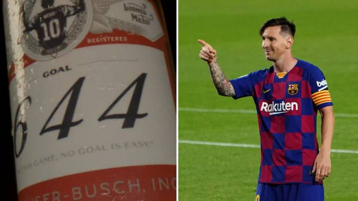 Full List Of Which Goalkeepers Were Sent Beer For Lionel Messi's Goals