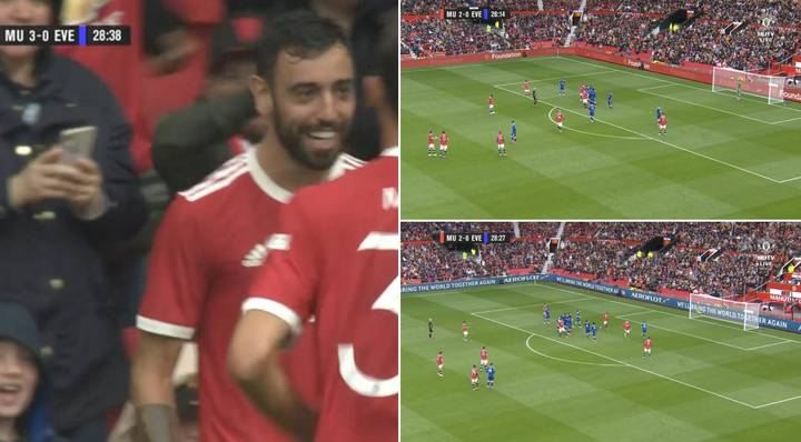 Bruno Fernandes Has Just Scored The Best Free-Kick Of His Manchester United Career