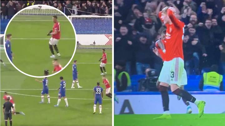 The Reactions From Manchester Utd Players When Marcus Rashford Scored That Free-Kick