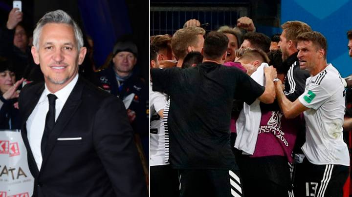 Gary Lineker's Tweet About Germany's Dramatic World Cup Victory Instantly Goes Viral