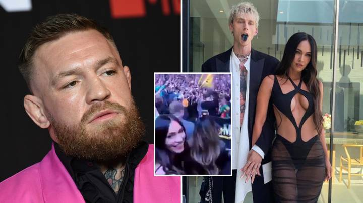Conor McGregor 'Likes' Video Of Megan Fox Cheering Him On Amid Machine Gun Kelly Beef