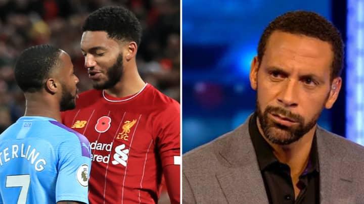 Rio Ferdinand Criticises Gareth Southgate For Dropping Raheem Sterling