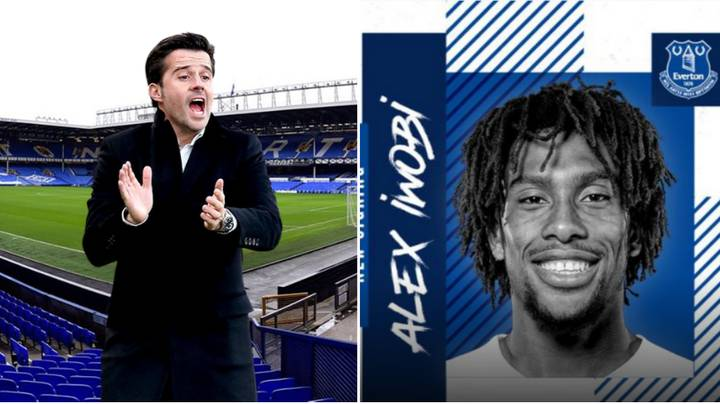 Alex Iwobi Signs For Everton From Arsenal On Deadline Day