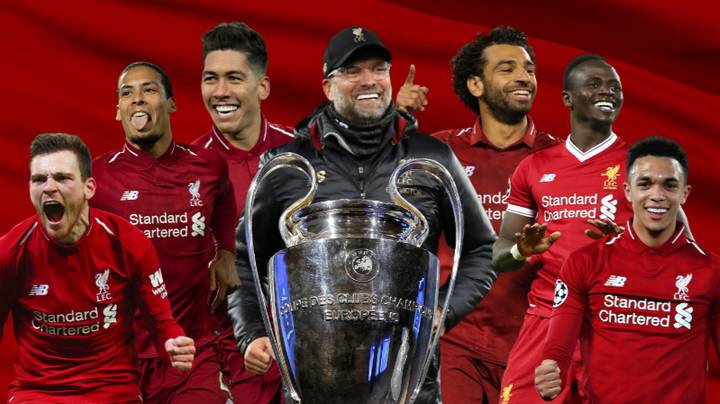 Liverpool Beat Spurs 2-0 To Win The Champions League