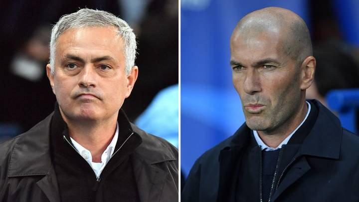Jose Mourinho Becomes Clear Favourite To Replace Zinedine Zidane After Real Madrid's Champions League Horror Show
