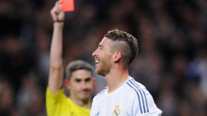 How Many Red Cards Has Sergio Ramos Got In His Career?