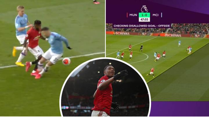 Manchester United Beat Manchester City 2-0 Thanks To Martial And McTominay Goal