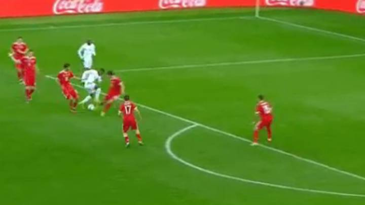 WATCH: Wilfried Zaha Scores A Stunning Solo Goal Against Russia