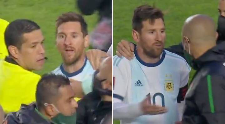 'Your Mother' - Footage Shows How Incensed Lionel Messi Was After Huge Argentina Win In Bolivia