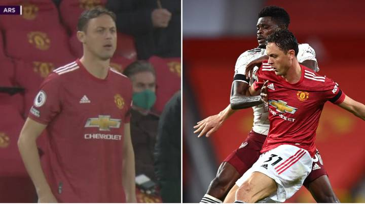 Manchester United Star Nemanja Matic Chose Not To Wear A Poppy During Arsenal Loss