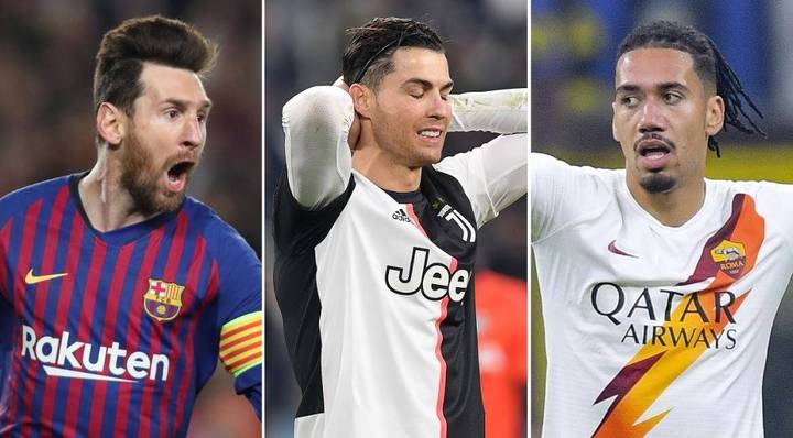 Cristiano Ronaldo Snubbed From The European Team Of The Season So Far