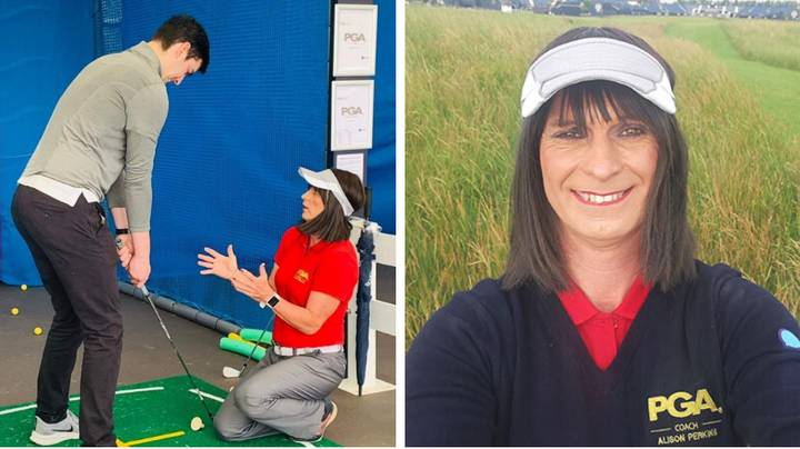 Transgender Golf Instructor Abused By Spectators While Giving Lessons At The Open