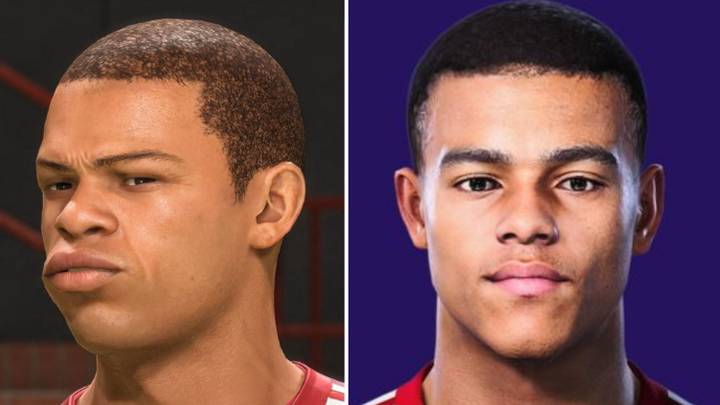 PES 2021 Put FIFA 21 To Shame By Updating Mason Greenwood's Face