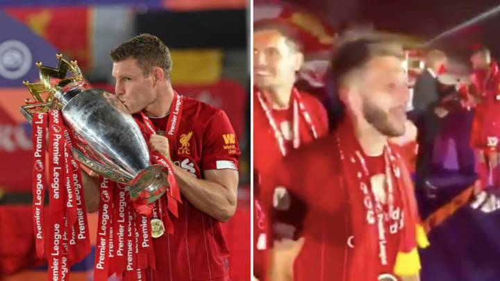 """James Milner Called Manchester United """"F***ing """"W***ers' Before Liverpool Lifted Premier League Trophy"""