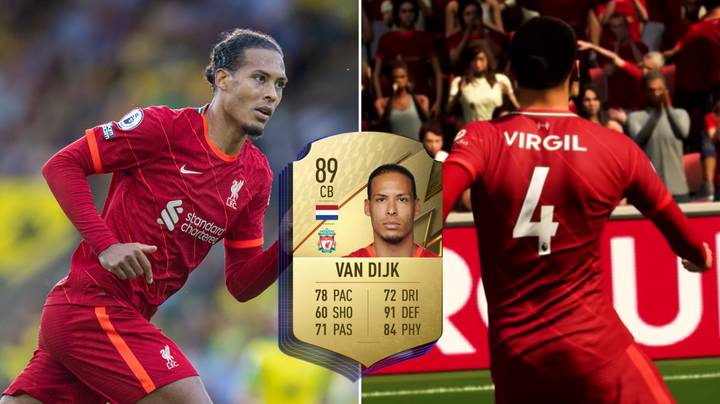 There's A 38-Year-Old Centre-Back Who's Quicker Than Virgil van Dijk On FIFA 22