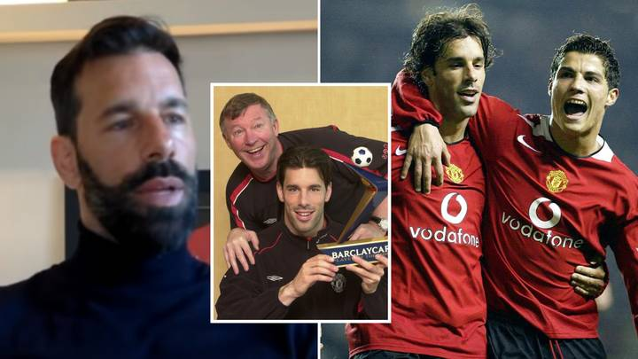 Ruud Van Nistelrooy Finally Addresses Cristiano Ronaldo Comments That Saw Him Leave Manchester United