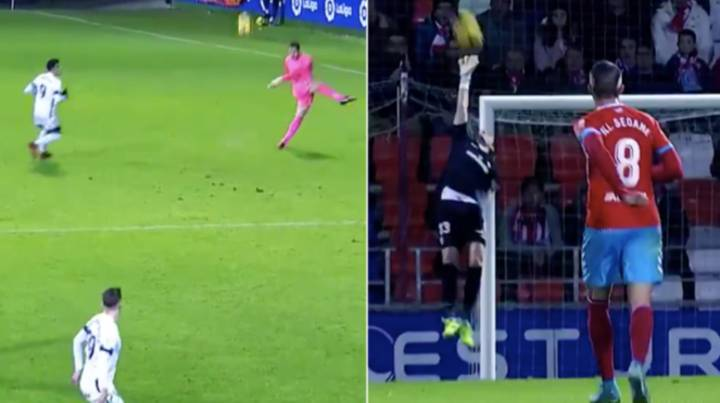 Goalkeeper Juan Carlos Has To Win Best Goal Of 2018 After Scoring From 60 Yards