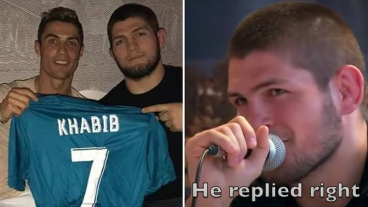 Khabib Nurmagomedov Reveals Hilarious First Exchange With Cristiano Ronaldo On Instagram