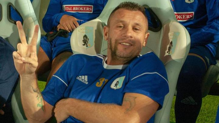 Antonio Cassano Has Retired From Football For The Third Time