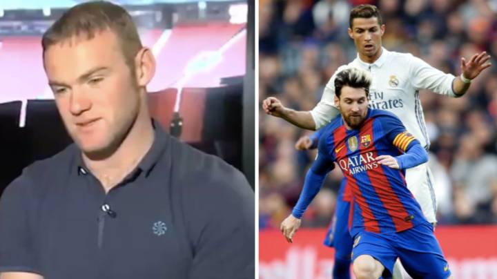 What Wayne Rooney Said When A Reporter Asked 'Ronaldo Or Messi?' Might Surprise A Few People