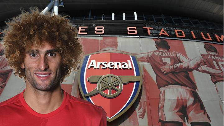 Marouane Fellaini's Representatives To Hold Meeting With Arsenal This Week Over Transfer