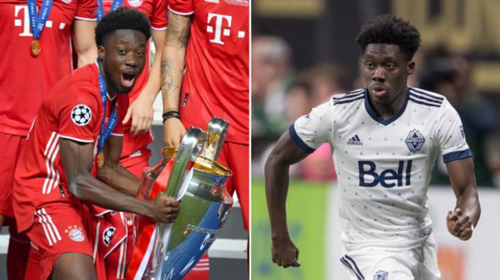 Premier League Side Almost Signed Alphonso Davies As A 15-Year-Old - But Couldn't Get A Work Permit