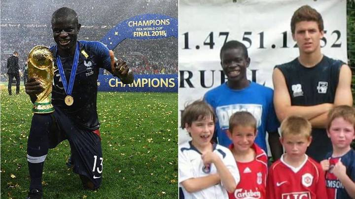 N'Golo Kante Trained For A Completely Different Career Before Becoming Professional Footballer
