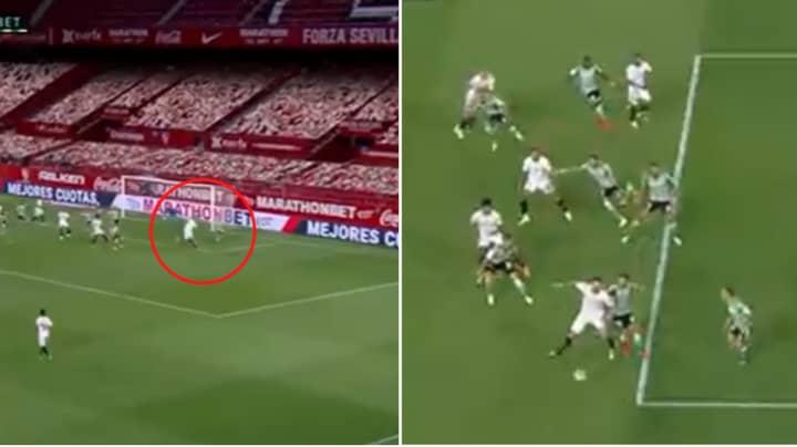 Lucas Ocampos Pulled Off 'The Assist Of The Season' On La Liga Return
