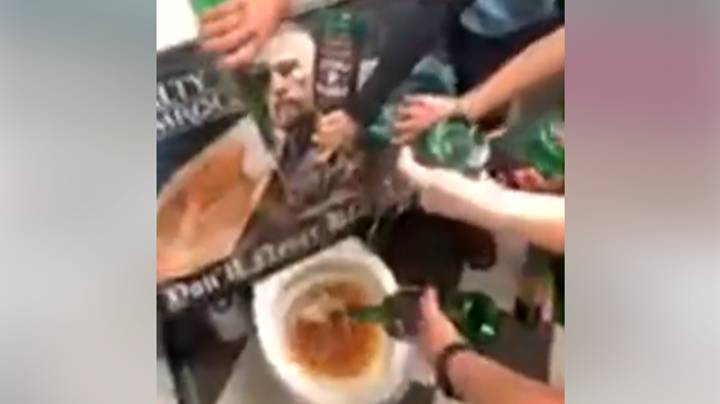Irish Bar Blacklists Conor McGregor By Pouring His Whiskey Down The Toilet