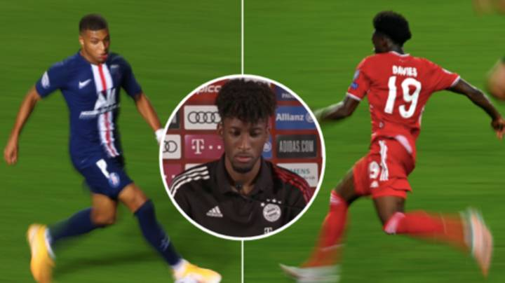 Kingsley Coman Reveals Who Is Faster Out Of Alphonso Davies And Kylian Mbappe