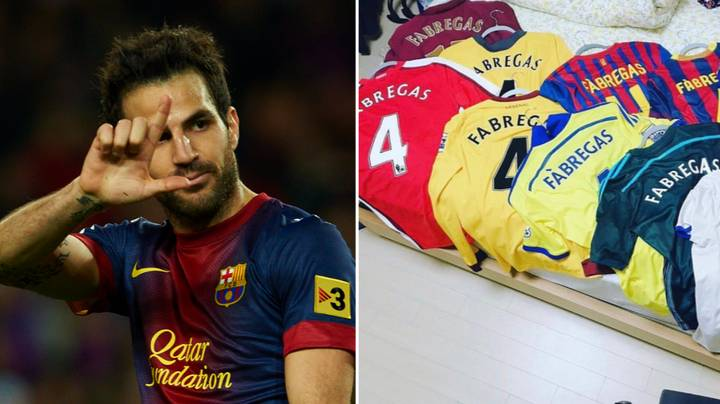 Cesc Fabregas Expertly Shuts Down Twitter Troll Who Claimed He Sat On The Bench At Barcelona