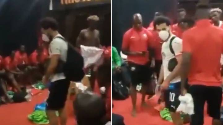 Liverpool Star Mohamed Salah Went Into Kenya's Dressing Room After Match In Classy Gesture