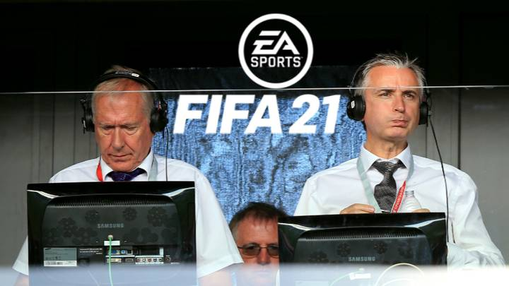 It Appears Martin Tyler And Alan Smith Will Not Feature On FIFA 21 For The First Time Since 2005