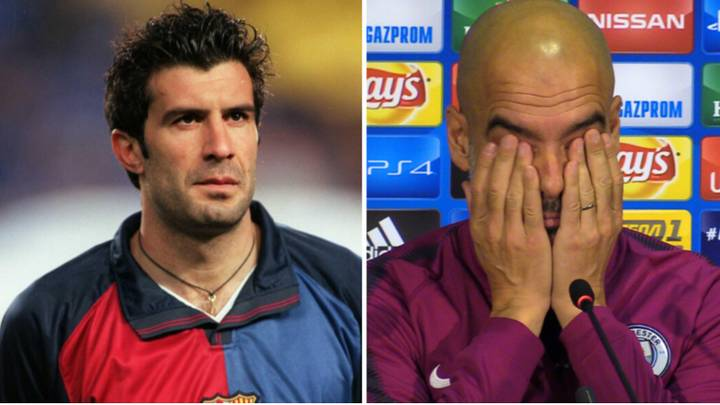 Luis Figo Denies He And Pep Guardiola Had A Romantic Relationship