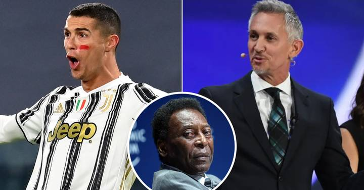 Gary Lineker Breaks Down 'Mind-Blowing' Numbers Behind Cristiano Ronaldo Goal Record