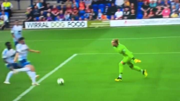 Loris Karius Makes Another Massive Blunder During Friendly Against Tranmere