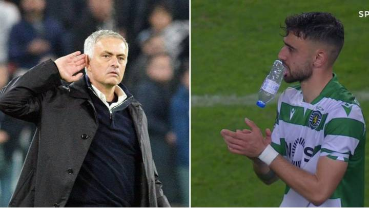 Jose Mourinho Savagely Trolls Manchester United Over Bruno Fernandes Transfer Saga