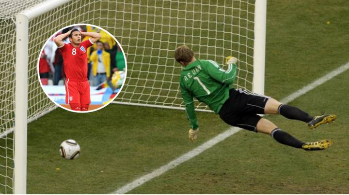 10 Years Ago Today, Frank Lampard Had His Goal Ruled Out Against Germany In The World Cup