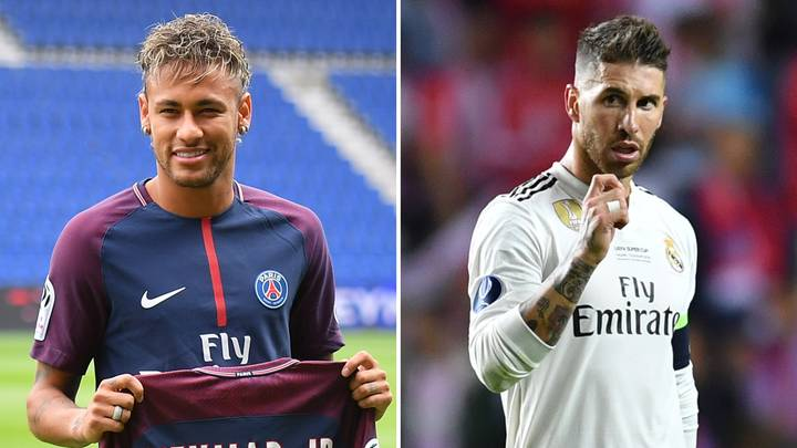 Neymar Is One Of The 'Top Three Players In The World,' Says Sergio Ramos