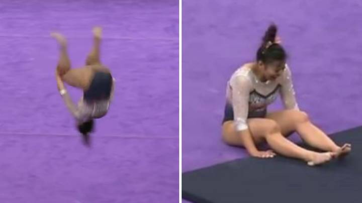 American Gymnast Breaks Both Her Legs And Suffers Double Knee Dislocation In Horror Fall