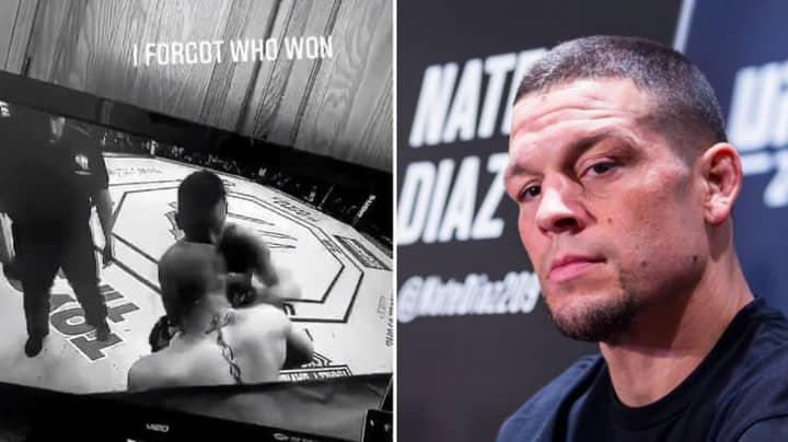 Nate Diaz Sends A Message To Conor McGregor