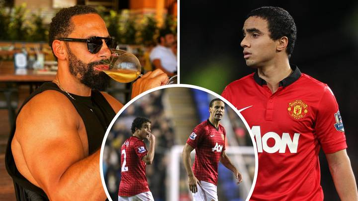 Rio Ferdinand Accused Of Photoshopping Arms By Former Manchester United Teammate