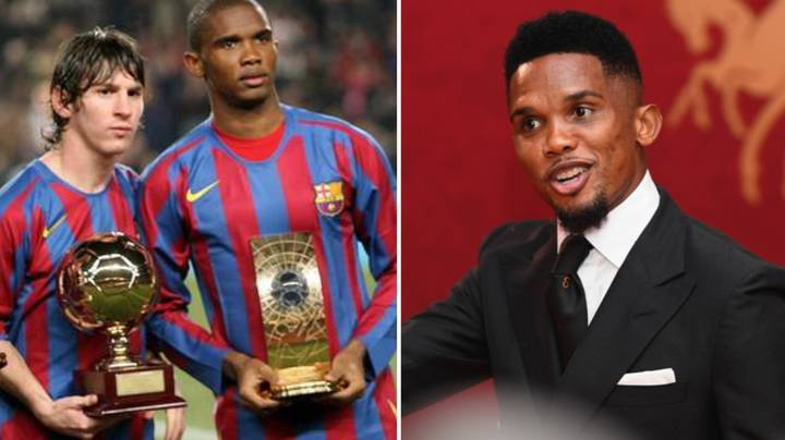 Samuel Eto'o Names The Youngster Who Can Become 'The Future Messi'
