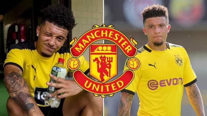 Manchester United's Latest Jadon Sancho Bid Has Been Rejected By Borussia Dortmund