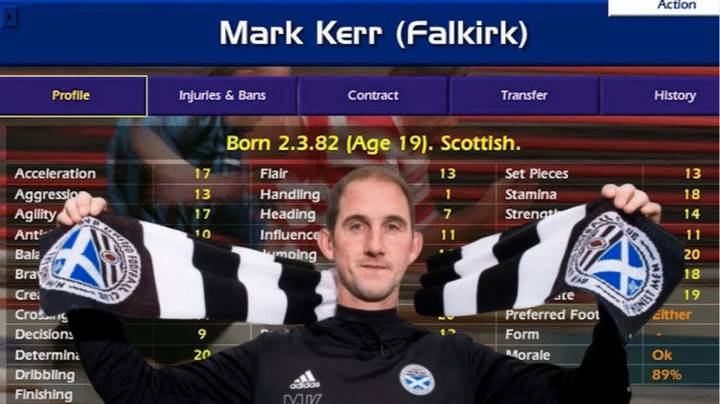 Championship Manager Legend Mark Kerr Is Now A Real Life Championship Manager