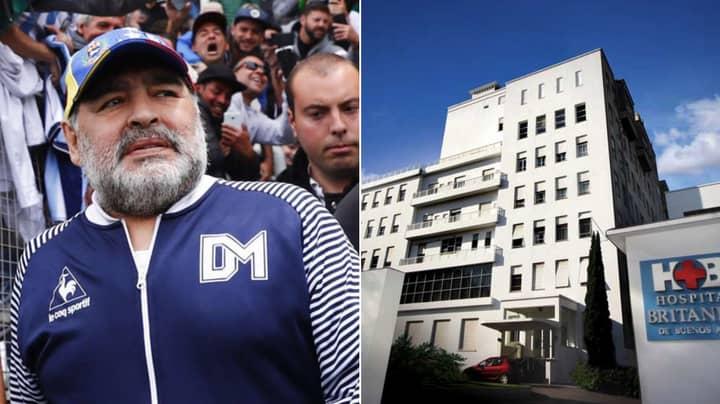 Diego Maradona To Undergo Emergency Surgery To Remove Blood Clot On Brain