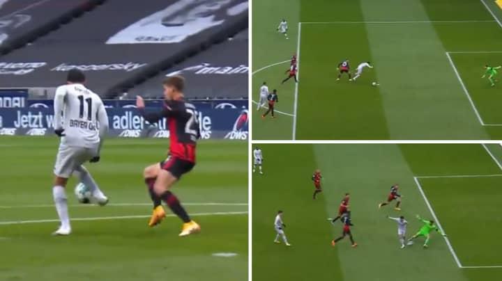 Bayer Leverkusen Midfielder Nadiem Amiri Scores Incredible Back-Heel Goal