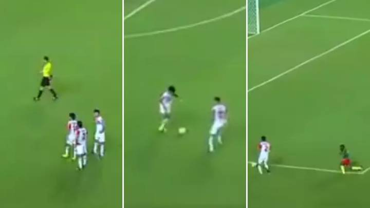 Tajikistan U-17's Free-Kick Routine At The World Cup Was Absolutely Genius