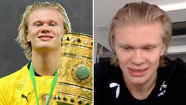 Erling Haaland's Classy Message To Borussia Dortmund Chiefs Saying That He Can't Leave In Summer